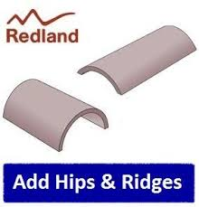 redland rosemary clay plain tile heather brindle roofing outlet