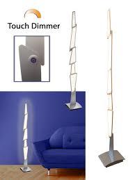 led stehleuchte spacy touch dimmer ausgefallenes design