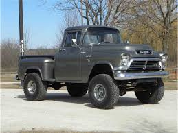 1957 GMC 4x4 Truck For Sale | ClassicCars.com | CC-1075996 1957 Gmc 150 Pickup Truck Pictures Halfton Panel 01 By Darquewander On Deviantart Rm Sothebys Series 101 12ton The 4x4 Volo Auto Museum Mag Wheels Day Bring The Wife In Project 100 Jimmy Hot Rod Network 1956 Pick Up Rat Chopper Bobber Hauler 1958 2014 Redneck Rumble Youtube Heartland Twitter So As You Can See Tys Classic Stepside Show Truck Resto Mod Ncours De Elegance Happy 100th To Gmcs Ctennial Trend