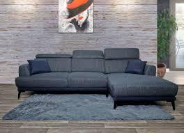 sofa hwc g44 ecksofa l form 3 sitzer liegefläche nosagfederung taschenfederkern verstellbar rechts dunkelgrau