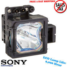 Sony Sxrd Lamp Light Flashing Red by When To Replace Your Rear Projection Tv Lamp Ebay