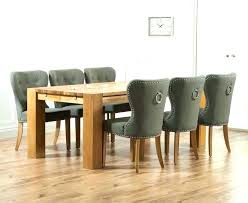 4 Dining Room Chairs Oak Tables And Table Grey Full Size Of