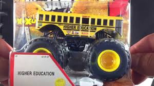 Hot Wheels Monster Jam New For 2013 Higher Education! - YouTube