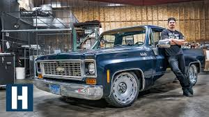 100 C10 Chevy Truck Slammed Chopped And Notched Zacs Gets LOW
