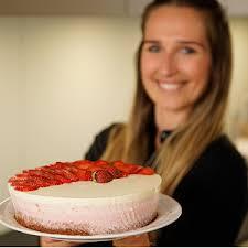 erdbeer ombré cake mit schokoboden rezept chochdoch mit