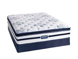 bedroom king size simmons beautyrest pillow top mattress