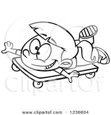 Scooter Board Clipart