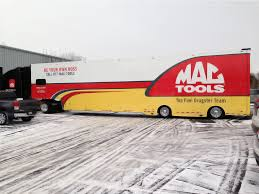 Mac Tools Semi Truck Wrap | DPI WRAPS.COM