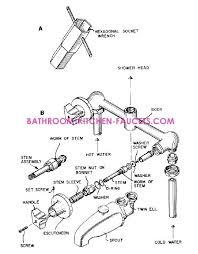 replacement kitchen faucet handles imindmap us