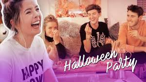 Youtube Carli Bybel Halloween by Halloween Party Zoella Makeup Videos