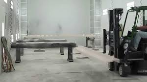 Trinco Blast Cabinet Manual by Ids Blast U0026 Paint Job Shop Combi Lift Youtube