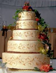 Not This Exact Cake But The Gold Shimmer