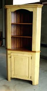 Reclaimed Wood Hutch Corner Cabinet Dining Room
