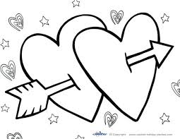 Hello Valentines Day Coloring Pages Pdf For Free