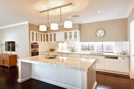 Hampton Bay Shaker Cabinets by Shaker Cabinets In This Beautiful Hamptons Style Kitchen