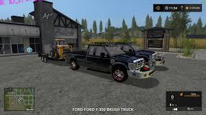 100 Ford Truck Games FORD F350 BRUSH TRUCK V10 LS17 Farming Simulator 2017 17 LS Mod