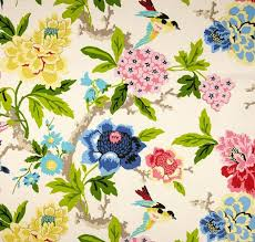 Waverly Fabric Curtain Panels by Searching For A Fabulous Floral Fabric