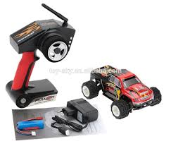 Wltoys A212 Shock Resistant 1/24 Electric 4wd Bigfoot Monster Rc ...