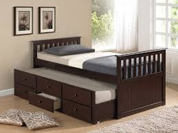 Bedroom Trundle Storage Bed Youth Trundle Beds