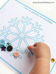 Easy Winter Craft For Kids Free Printable