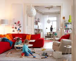 Red And Taupe Living Room Ideas by 50 Bright And Colorful Room Design Ideas Digsdigs Interiors