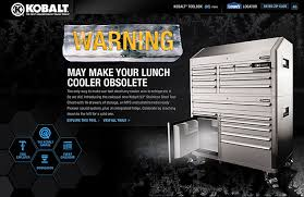 Kobalt Tool Cabinet With Radio by Kobalt 53 Inch Tool Chest By Scott Rench At Coroflot Com