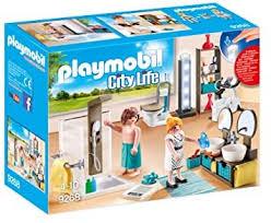 playmobil city 9268 badezimmer mit lichteffekten ab 4 jahren