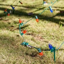 Flagpole Christmas Tree Plans diy christmas ideas make a tree of lights using a basketball pole