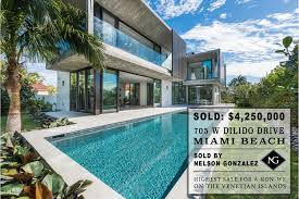 100 Miami Modern SOLD New Luxury Home On Venetian Islands In Beach By Nelson