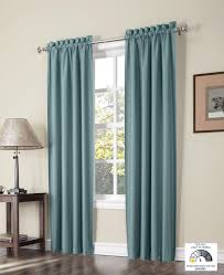 Kmart Eclipse Blackout Curtains by Amazon Com Sun Zero Paula Thermal Lined Curtain Panel Pair 37