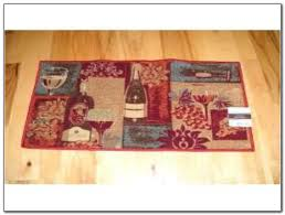 Wine Themed Kitchen Set by Wine Rugs For Kitchen The Sets Kitchenwine Bottle Grapes 46