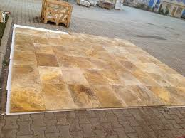 Scabos Travertine Floor Tile by Travertine Tile Outlet Garfield New Jersey