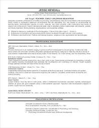 Resume Format Of Teacher Examples