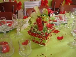 deco coccinelle pour bapteme decoration de table thème coccinelle coccinelle