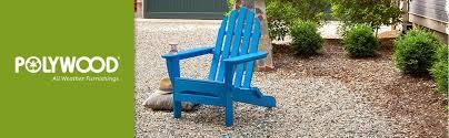 Red Adirondack Chairs Polywood by Amazon Com Polywood Ad5030sr Classic Folding Adirondack Sunset