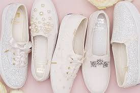 Kate Spade Launches Wedding Bridal Sneaker Line with Keds