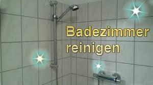 badezimmer putztrick bad mühelos sauber machen lifehack bad reinigen dusche putzen