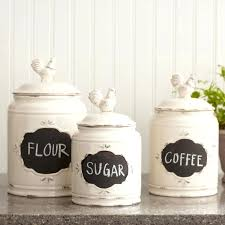 Mason Jar Kitchen Canisters For Ceramic Stoneware Birch Lane Bantam Canister Sets Accessories