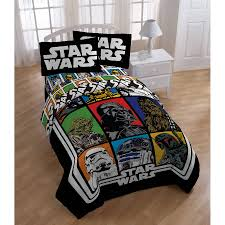 star wars bed in a bag 5 piece twin bedding set with bonus tote