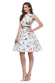 women summer style inspired vintage clothing retro 50s big swing