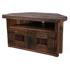 tv ecktisch hifi eckschrank rustikal unikat massivholz vintage schrank tisch höhe 50 cm breite 90 cm tiefe 45 cm