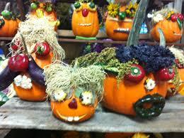 Halloween Ideas For Pumpkins by Bride Of Frankenstein Painted Pumpkin Gourd Halloween