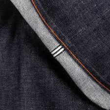 indigo denim embroidered jeans by martin ksohoh jeans
