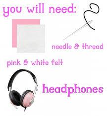 how to make cat ears diy cat ear headphones le freak so diy