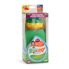 Amazoncom Reusable Baby Food Pouch Squeeze Portable