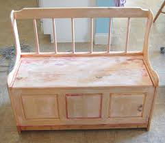 Wooden Toy Box Plans Free Download by Remodelaholic Toy Box Bench Make Over