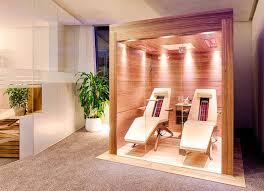 infrarot relaxliege für wellnessbereich oder badezimmer