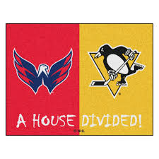 NHL Washington Capitals/Pittsburgh Penguins Door Mat St Louis Blues Chair Nhl Gift Hockey Nursery Stanley Cup Kids Pittsburgh Penguins Roundel 27 In X Nonslip Indoor Only Mat Womens Iconic Knit Beanie Lovely Black Pullover Hoodie 32oz Stainless Steel Keeper Tumbler Penguin Bedding Twin Bed Set Jalerson Nicklas Backstroms Fourassist Game On Saturday Night Hlights Personalized Rocking Chair Chairs Beachkit Toronto Maple Leafs Personalized Childrens Rocking Sports Civic Arena Stadium Original Orange Seat
