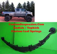 Kodiak Topkick C4500 Custom Front Lift Springs 10 | Trucks ...
