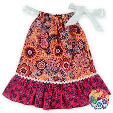 DHL Free 2016 Latest Kids Dress Designs Child Cotton Pillowcase 3 Year Old Girl